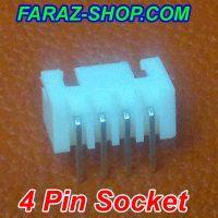 4 Pin Socket-3-4